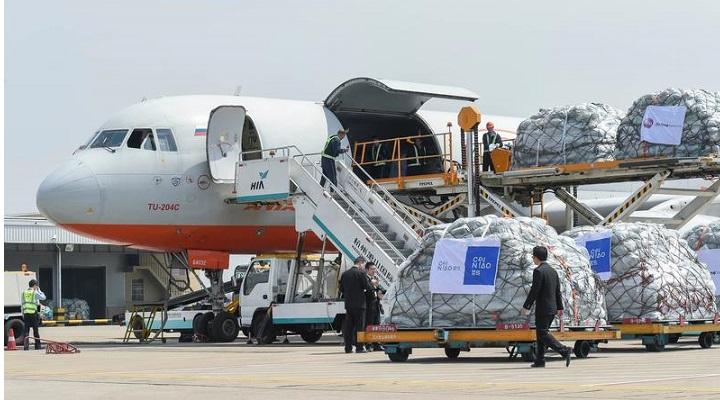 АлиЭкспресс запускает 3 дополнительных рейсов в неделю по маршруту Китай - Москва