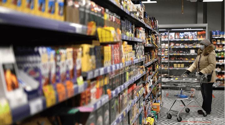 За год цены на продукты в России в среднем выросли на 7%