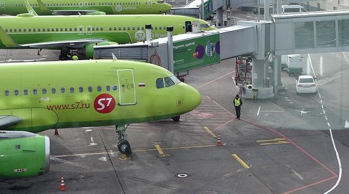 Самолёты S7